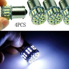 4x Ba15s 1157 P21/5W Bremslicht Rückleuchte 50SMD LED Lampe Birne Pure *Weiß*