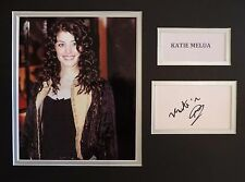 KATIE MELUA - SINGER/SONGWRITER- XMAS OFFER - SIGNED DISPLAY - COA - IN-PERSON