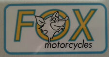 FOX KAWASAKI DEALER RESTORATION STICKER MAPPERLEY TOP NOTTINGHAM Z1 H2 KH KE H1