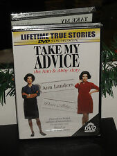 Take My Advice (DVD) Ann & Abby Story, Ann Landers, Lifetime True Story! NEW!