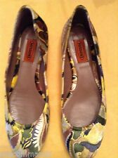 NEW Missoni Tessuto Velvet Flats - Pick US 7.5 (EU 38) OR US 8 (EU 38.5)