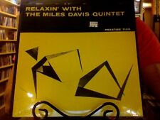 Miles Davis Quintet Relaxin' with LP sealed vinyl RE reissue Relaxing