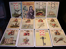 SEALED & BRAND NEW! LENORMAND CARD & BOOK ORACLE EUROPEAN CARTOMANCY
