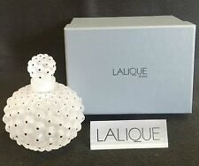 LALIQUE CACTUS LARGE No.1 PERFUME BOTTLE *NEW IN BOX*