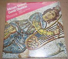 MIRIAM GIDEON / DAVID CHAITKIN - CRI SD 493 SEALED