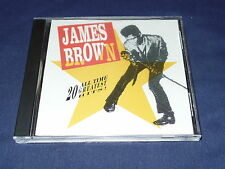 20 All Time Greatest Hits James Brown (CD 1991) VG CondFast FREE Shipping