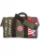 CAPTAIN AMERICA MARVEL COMICS VINTAGE MILITARY ARMY STEVE ROGERS KIT DUFFLE BAG