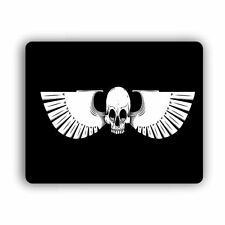 """Skull with Wings Computer Gaming Mouse Mat Pad   8""""x 10""""  Desktop Laptop Mouse"""