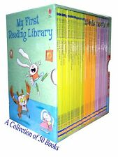 Usborne My First Reading Library 50 books box set  - brand new
