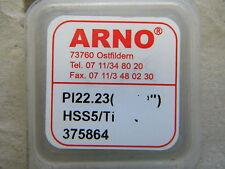Arno Schneidplatte, Serie I + K zum Bohren, PI 22,23 HSS5/TiAlN