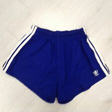 Pantaloncino adidas cotton sprinter Shiny Shorts glanz pants 196 vintage 70' D 8