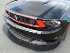 FRONT SPLITTER 2010-2012 Mustang w/ Boss 302/California Special & Suport rods