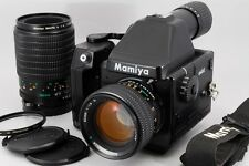 【NEAR MINT】 Mamiya 645E w/ SEKOR C 80mm f1.9 N, MACRO A 120mm f4,Lens,from JAPAN