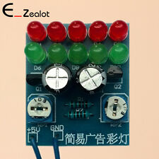 Simple Advertisement LED Light PCB Board DIY Kit For Practical Training Electric