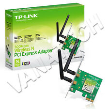 SCHEDA DI RETE INTERNA WIRELESS TP-LINK PCI-E TL-WN881ND 300MBPS DOPPIA ANTENNA