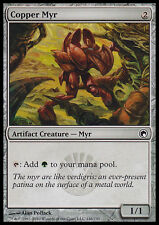 MTG 4x COPPER MYR - MYR DI RAME - SOM - MAGIC