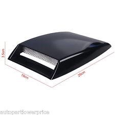 Universal Car Decorative Air Flow Grilles Intake Scoop Bonnet Vent Cover Hood