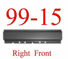 99 15 Right Front Rocker Panel, Ford Super Duty Extended Cab & Crew Cab Trucks