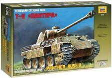 Zvezda 3678 German Medium Tank T-V Panther AUSF.D 1/35