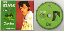 "ELVIS PRESLEY CD ""SPLICED TAKES -  SNOWBIRD"" 2016 CMT CHRISTMAS HIS HAND IN MINE"