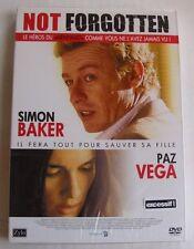 DVD NOT FORGOTTEN - Simon BAKER / Paz VEGA - Dror SOREF - NEUF
