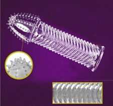New stripe Reusable Dotted Ribbed delay thicken thorn Condom Permanent Bump