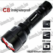 3 Modes Portable 5W LED Flashlight Torch CREE Flash Light Hunting Camping Lamp