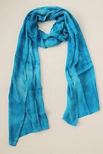 BRAND NEW HANDMADE EXTRA LONG LIGHT BLUE TIE DYE SCARF SARONG FREE POST / SCL010