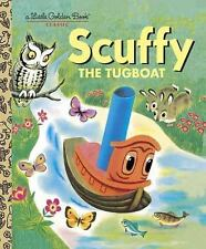 Scuffy The Tugboat   New Hardcover Little Golden Book