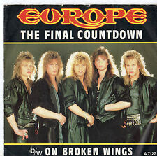 "Europe - The Final Countdown 7"" Single 1986"