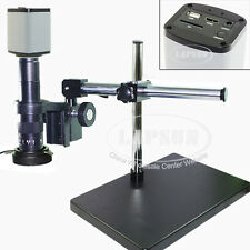 Dual Arm HDMI 1080P 5MP USB HD Digital Lab Industrial C-mount Microscope Camera