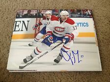 Torrey Mitchell Autographed 8x10 Photo Montreal Canadians Sharks Wild