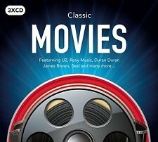 CLASSIC MOVIES 3CD SET - VARIOUS ARTISTS (September 16th 2016)