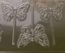 BUTTERFLY CHOCOLATE LOLLIPOP MOULD