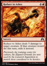 MTG 4x REDUCE TO ASHES - RIDURRE IN CENERE - SOI - MAGIC
