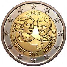 Belgio 2€ 2011 Giornata della Donna FDC
