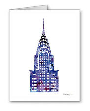 Chrysler Building Note Cards With Envelopes