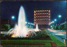 AA1729 Roma - Città - E.U.R. - Palazzo della Civiltà Italiana - Notturno