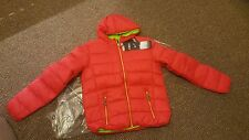 CMP Down jacket - in Red MEDIUM - Lightweight Breathable WARM RRP £129.99