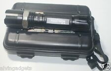 Police 50000W GD32 LED Flashlight Zoomable With Case,Battery 18650 & Charger