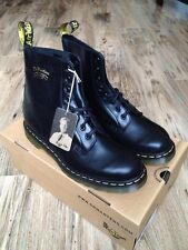NEW Dr Martens Pascal Buttero 1460 Boots 50th Anniversary Smooth Black Mens US12