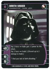 Star Wars TCG Rare Unleashed Promo Card Darth Vader