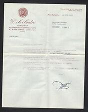 """ALOXE-CORTON (21) CHATEAU de CORTON-ANDRE / VINS """"A. ANDRE"""" en 1963"""