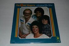 The Oak Singers~A Vessel For Thee~SEALED~RARE Christian Gospel Worship~FAST SHIP