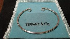 Tiffany & Co Elsa Peretti Sterling Silver 925 Beautiful Cuff Bracelet, 8.1g