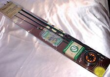 Martin Trout Panfish Bass Fly Fishing Kit Rod Reel Line Poppers