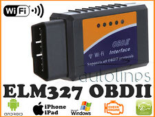 ELM327 OBDII OBD2 WiFi Car Auto Diagnostics Scanner Tool iOS iPhone iPad ANDROID