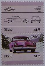 1953 STUDEBAKER STARLINER Car Stamps (Leaders of the World / Auto 100)