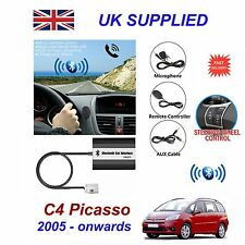 For C4 Picasso Bluetooth Hands Free Phone AUX Input MP3 USB Charger Module 12Pin