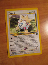 NM TOGEPI Pokemon PROMO Card #30 Rare Black Star Set Wizard of the Coast League
